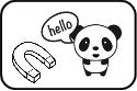 panda magnetic