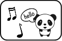 panda sound